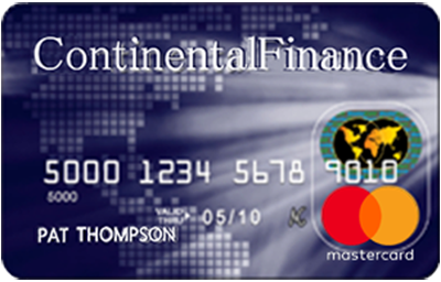 continental finance classic card