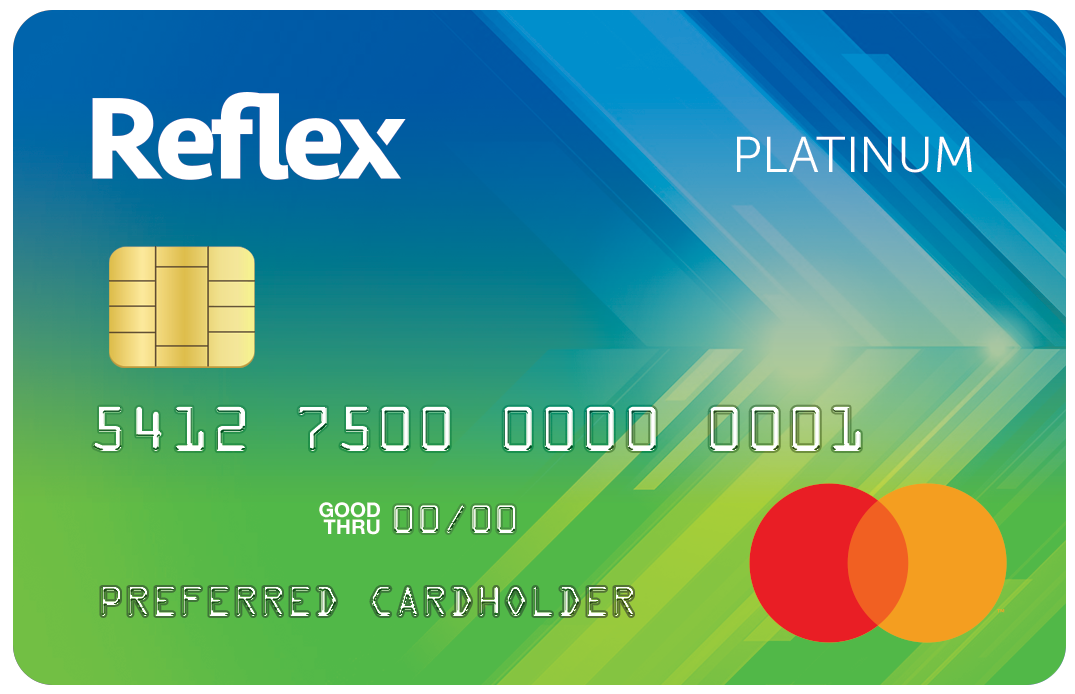 Image result for reflex credit card