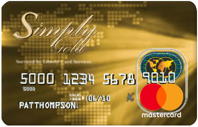 the simply gold credit card